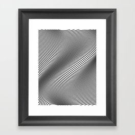 Bold Minimal Lines Framed Art Print