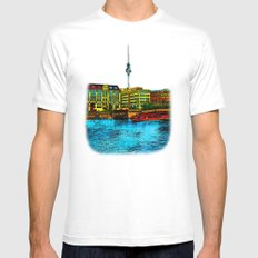 Berlin Mens Fitted Tee White MEDIUM