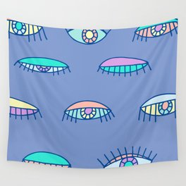 Bedroom Eyes Wall Tapestry