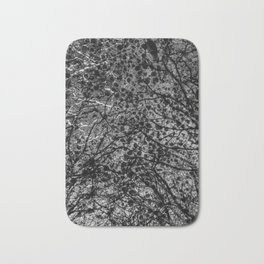 Entwined Branches And Marble Bath Mat