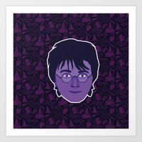 harry Art Prints featuring Harry by Kuki