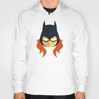 batgirl Hoodies featuring Batgirl by Oblivion Creative