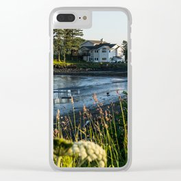 Small Alaskan Wildflowers pt.3 Clear iPhone Case