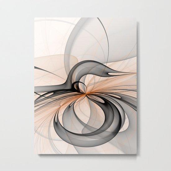 Abstract Art Fractal Metal Print
