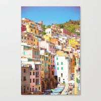 italy Canvas Prints featuring Italy by GF Fine Art Photography