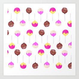 Cake Pop Art Print