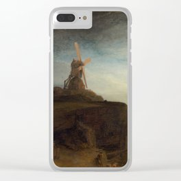 Rembrandt van Rijn - The Mill Clear iPhone Case