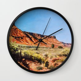 Onion Creek Morning Wall Clock