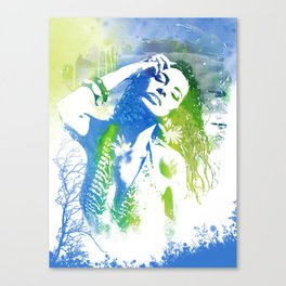 summer splash Canvas Print