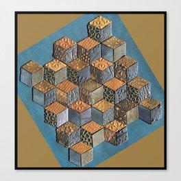 Tumbling Blocks #5 Canvas Print