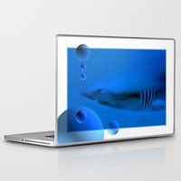 shark Laptop & iPad Skins featuring Shark by Laake-Photos