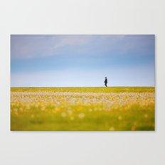Sometimes We All Walk Alone Canvas Print
