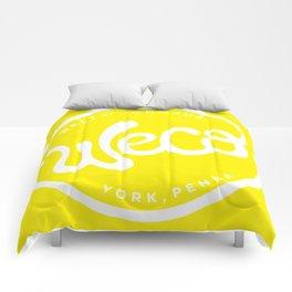 WeCo Logo Yellow Comforters