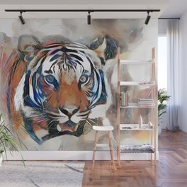 Tiger, the God of the Mountain Wall Mural
