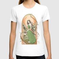 art nouveau T-shirts featuring art nouveau by Thierry