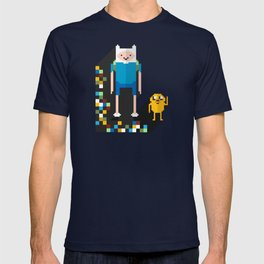 finn the pixel T-shirt