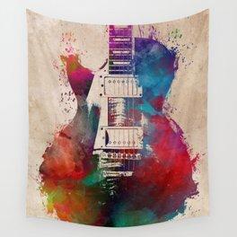 guitar art #guitar Wall Tapestry