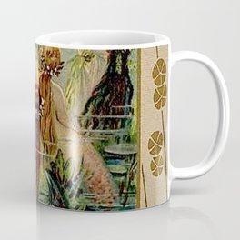 Gold of Rhine Vintage Mermaids Coffee Mug