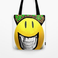 swag Tote Bags featuring SwaG by Stefanescu Catalin