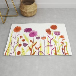 Mixed up Meadow Rug