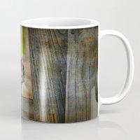 vermont Mugs featuring Vermont Chippy by Deborah Benoit