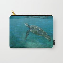 Sea Turtle with Posse Carry-All Pouch