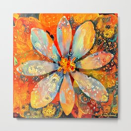 A New Day Flower Metal Print