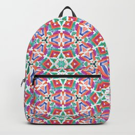 Watercolor Boho Dash 1 Backpack
