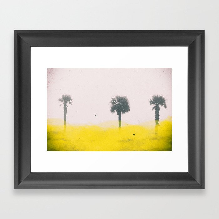 Day at the Beach 1 Framed Art Print