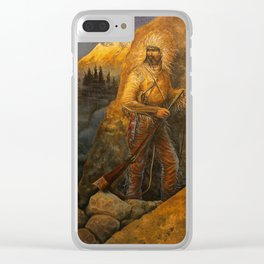 An Uneasy Sunrise Clear iPhone Case
