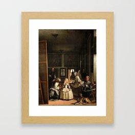 Diego Velazquez - Las Meninas Framed Art Print
