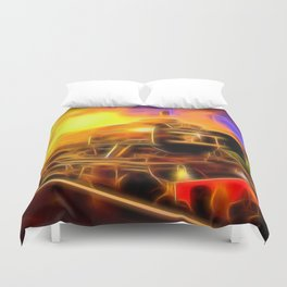 The Flying Scotsman Duvet Cover