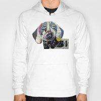 dachshund Hoodies featuring dachshund  by bri.buckley