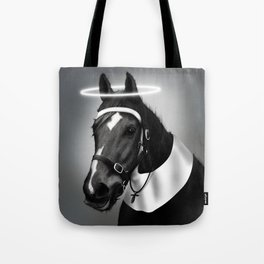 Saintly McGallop Tote Bag