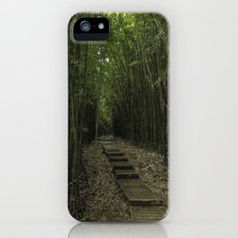 Inside the Bamboo Rainforest iPhone Case