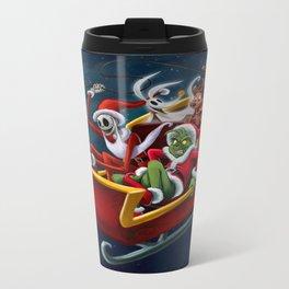 Christmas Hijackers Metal Travel Mug