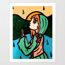 Mary at Dawn Art Print