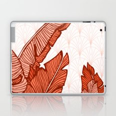 Red Tropical Leaves #society6 #decor #buyart Laptop & iPad Skin