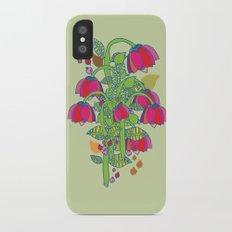 folk floral Slim Case iPhone X