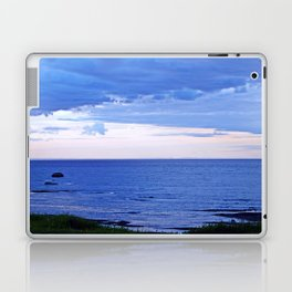 Blue on Blue at the River Mouth Laptop & iPad Skin