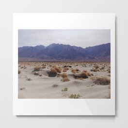Sand Dunes (Highway 395) Metal Print