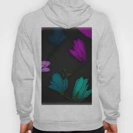 Fun With Coloring Floral Print 2 Hoody