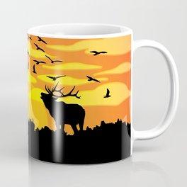 Flat wild life design Coffee Mug