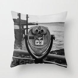 Brooklyn View Throw Pillow