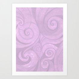 lavender II Art Print