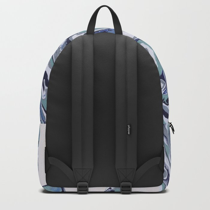 Oysters abstract Backpack