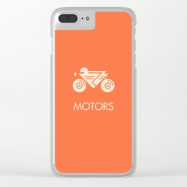 MOTORS / The Bike Clear iPhone Case