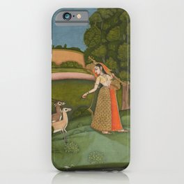 Todi Ragini, from a Ragamala Series - 18th Century Classical Indian Art iPhone Case