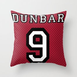 Teen Wolf - Dunbar Lacrosse Banner Throw Pillow