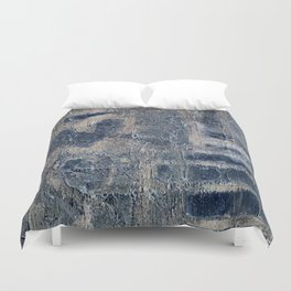 Message Wall Duvet Cover